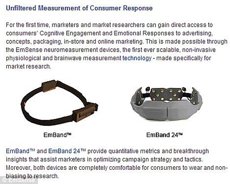 New Marketing Gadget Tracks Brainwaves As You Watch TV Article-1377797-0BAB183B00000578-400_468x374