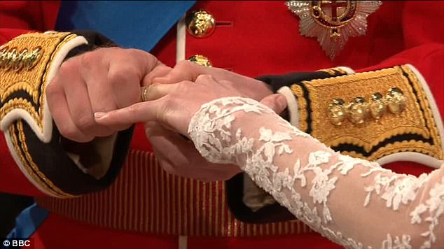 Magical wedding for a Royal bride... and even the vergers were doing cartwheels in the aisle Article-1381795-0BD357EC00000578-256_634x356