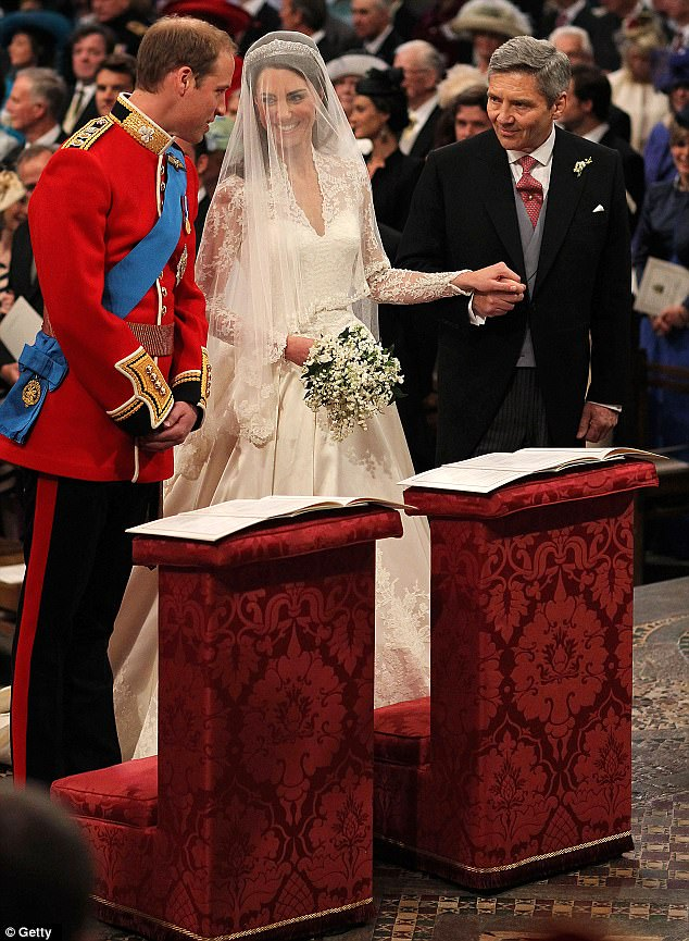 Magical wedding for a Royal bride... and even the vergers were doing cartwheels in the aisle Article-1381795-0BD36E3000000578-756_634x865