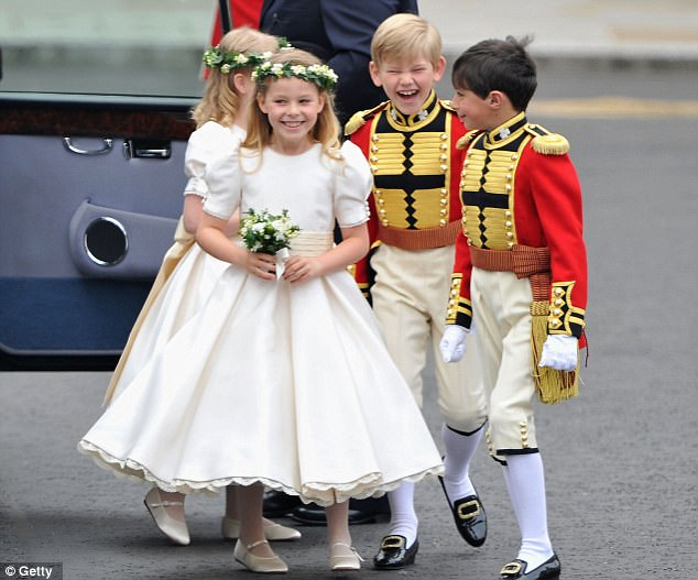 Magical wedding for a Royal bride... and even the vergers were doing cartwheels in the aisle Article-1381795-0BD372C700000578-439_634x527