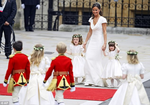 Magical wedding for a Royal bride... and even the vergers were doing cartwheels in the aisle Article-1381795-0BD3780400000578-80_634x445