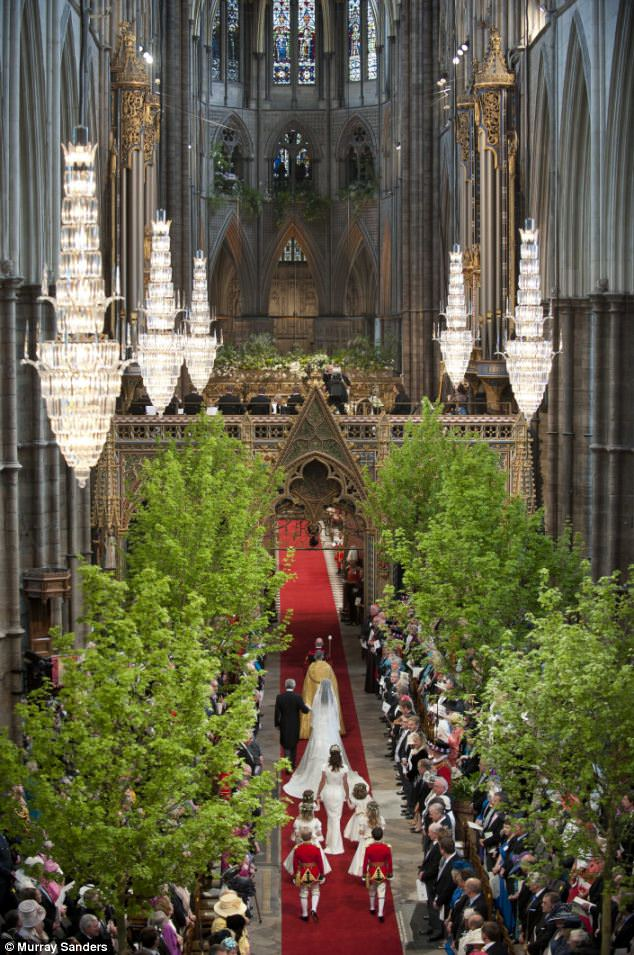 Magical wedding for a Royal bride... and even the vergers were doing cartwheels in the aisle Article-1381795-0BD3833000000578-964_634x955