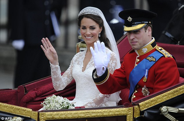 Magical wedding for a Royal bride... and even the vergers were doing cartwheels in the aisle Article-1381795-0BD3C00300000578-986_634x417