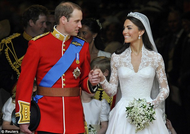 Magical wedding for a Royal bride... and even the vergers were doing cartwheels in the aisle Article-1381795-0BD3C56D00000578-927_634x449