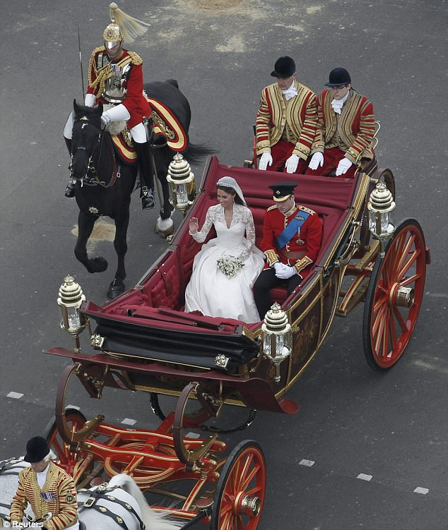 Magical wedding for a Royal bride... and even the vergers were doing cartwheels in the aisle Article-1381795-0BD44C7C00000578-129_634x751
