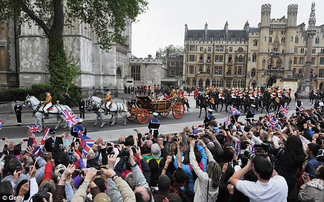 Magical wedding for a Royal bride... and even the vergers were doing cartwheels in the aisle Article-1381795-0BD46EBC00000578-378_634x395
