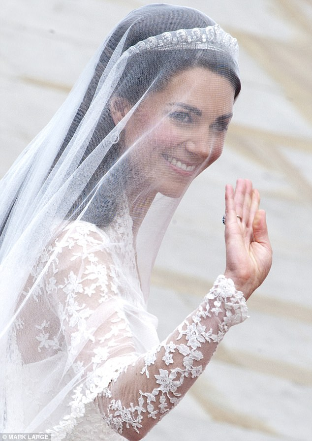 Magical wedding for a Royal bride... and even the vergers were doing cartwheels in the aisle Article-1381795-0BD4747800000578-196_634x896