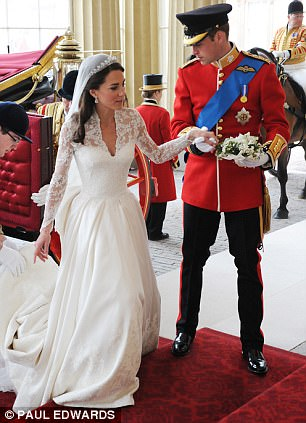 Magical wedding for a Royal bride... and even the vergers were doing cartwheels in the aisle Article-1381795-0BD4860D00000578-936_306x423