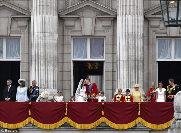 Magical wedding for a Royal bride... and even the vergers were doing cartwheels in the aisle Article-1381795-0BD4B1CE00000578-280_634x466
