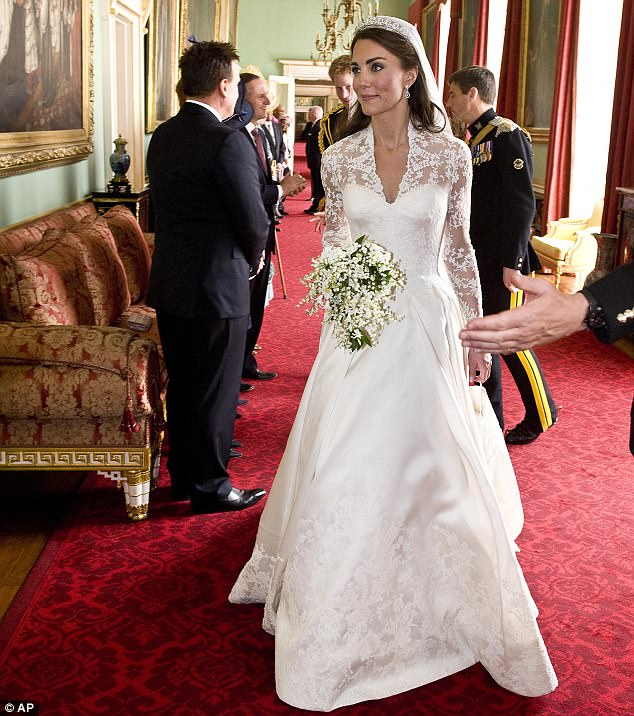 Magical wedding for a Royal bride... and even the vergers were doing cartwheels in the aisle Article-1381795-0BD50DCE00000578-229_634x716