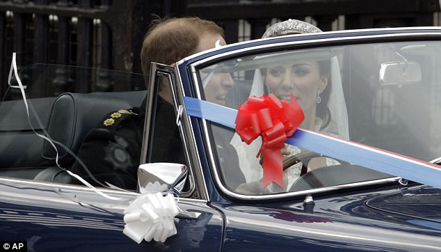 Magical wedding for a Royal bride... and even the vergers were doing cartwheels in the aisle Article-1381795-0BD526EC00000578-579_634x362