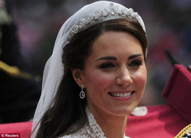 Magical wedding for a Royal bride... and even the vergers were doing cartwheels in the aisle Article-1381795-0BD497BB00000578-376_634x459