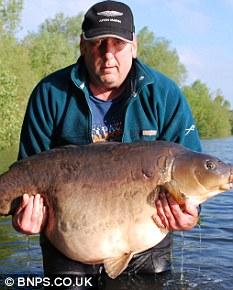صور اضخم سمكة فى انهار وبحيرات انجلترا Article-2019356-0D3025A800000578-3_233x290