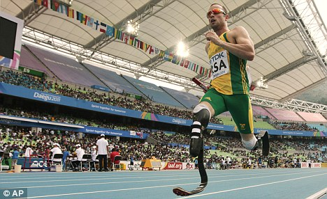 Oscar Pistorius walks out of BBC interview after insult Article-0-0DA8252500000578-870_468x286