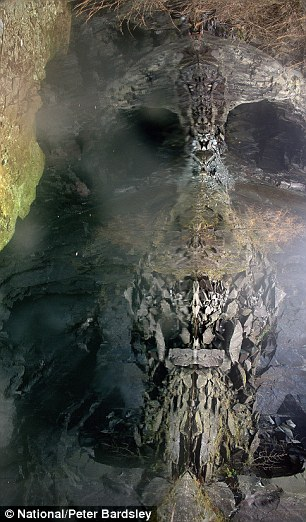Photographer captures eerie skull in reflection of remote rock face  Article-0-0F15F46000000578-459_306x522