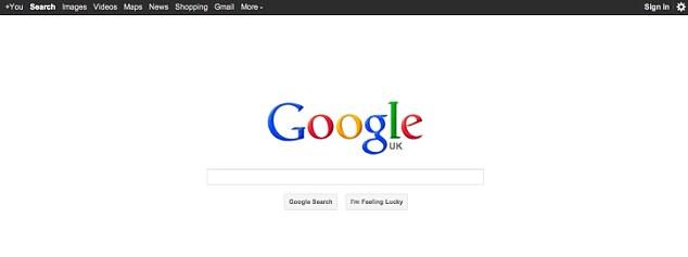 """قبل أن يحكم على الإنترنت : """"القديمة"""" الصفحات الرئيسية لنهر الأمازون، وجوجل وتغيرت العملاقين والفيسبوك """"سيتم عرض الكثير من الويب  Article-0-0F82827600000578-570_634x237"""