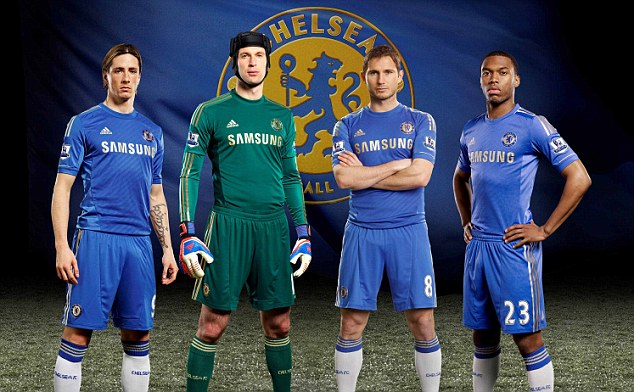 PREMIER LEAGUE NEW KIT SPECIAL: The strips your team will be wearing in 2012-13  Article-0-128CC8C5000005DC-978_634x392