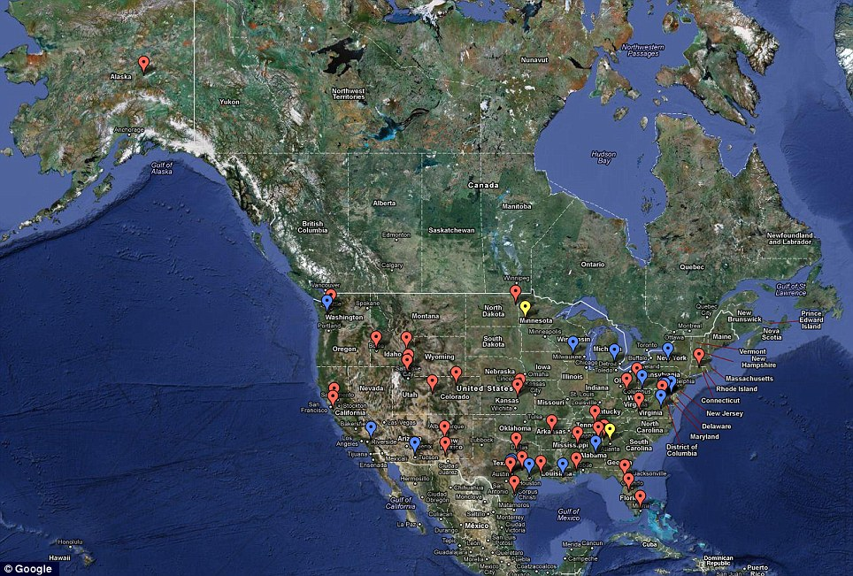 Is There A Drone In Your Neighborhood? FAA List Reveals 63 Launch Sites Across U.S.A Article-0-12BD6D73000005DC-24_964x651
