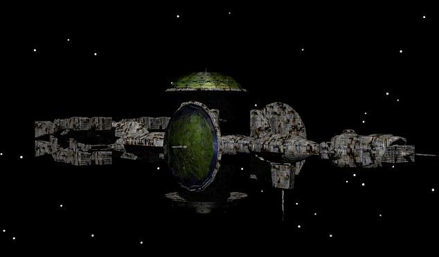 NASA Captures Metallic UFO on SOHO Image  Article-2134916-12C2E8BC000005DC-622_634x372