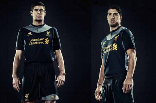 PREMIER LEAGUE NEW KIT SPECIAL: The strips your team will be wearing in 2012-13  Article-2128462-13793B83000005DC-653_634x416