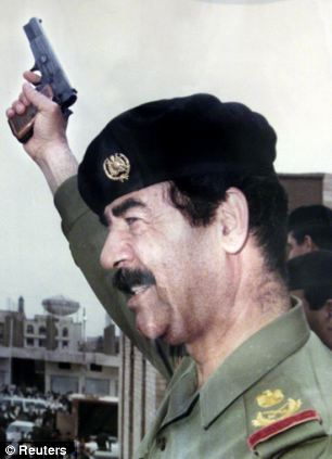 Saddam Hussein shoulder boards & cord,real or fake? Article-0-005773E500000258-864_306x423