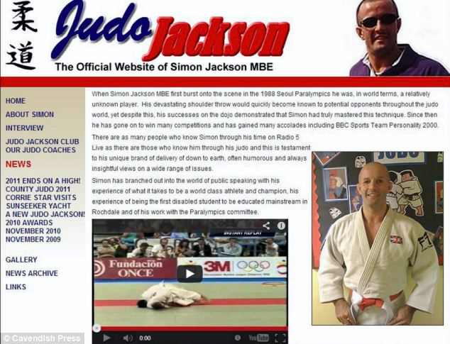 Blind Paralympic judo star stole £10,000 in disability benefits Article-2266497-17164A27000005DC-650_634x485