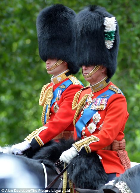 Trooping the Colour 2013. Article-2342119-1A54EB3B000005DC-537_470x650