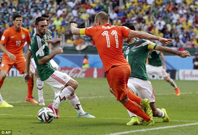 Last 16: Netherlands (1B) vs Mexico (2A) 29.06.14 18:00 - Page 6 Article-2674266-1F3FB46400000578-808_634x433