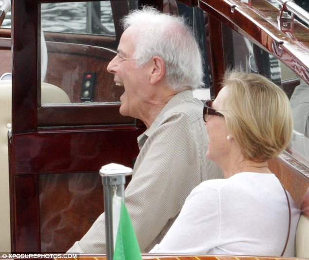 George Clooney's parents jet into Lake Como Article-2676853-1F4D749B00000578-250_634x534