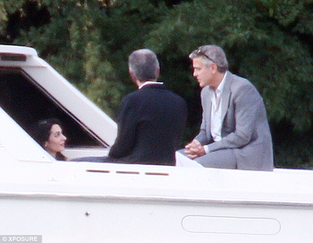 George Clooney and Amal and their parents on a family trip Article-2683670-1F75396700000578-721_634x492