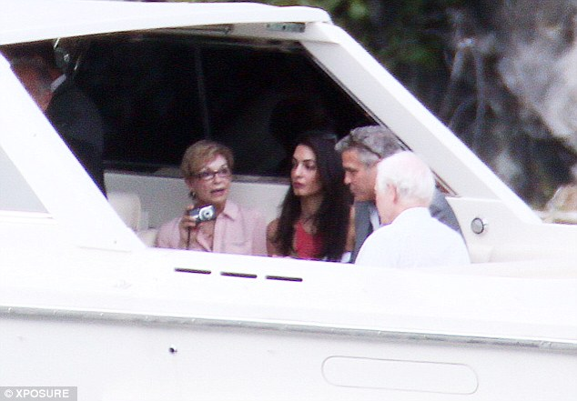 George Clooney and Amal and their parents on a family trip Article-2683670-1F75398800000578-577_634x441