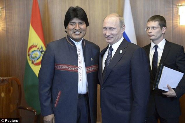 ¿Cuánto mide Evo Morales? - Altura - Real height 1405582502370_wps_5_Russia_s_President_Vladim