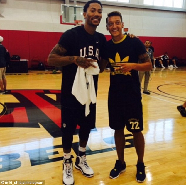 ¿Cuánto mide Derrick Rose? - Altura - Real height Article-2712960-202C9C0200000578-899_634x632