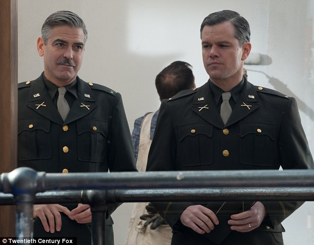 EXCLUSIVE: 'It's hard not to envy him!' Matt Damon opens up about his 'annoyingly talented' friend George Clooney    Article-2740775-20FEA64700000578-380_634x496