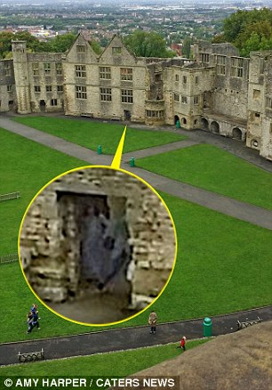 'Grey Lady ghost' captured in archway at Dudley Castle 1412674717197_wps_10_PIC_BY_AMY_HARPER_CATERS_