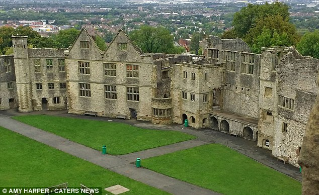 'Grey Lady ghost' captured in archway at Dudley Castle 1412675601791_wps_3_PIC_BY_AMY_HARPER_CATERS_