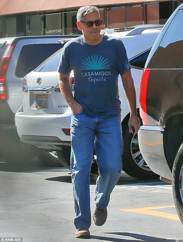 George Clooney stepping out again in Malibu on Wednesday October 22 2014 1413932161807_Image_galleryImage_Studio_City_CA_Newlywed_G