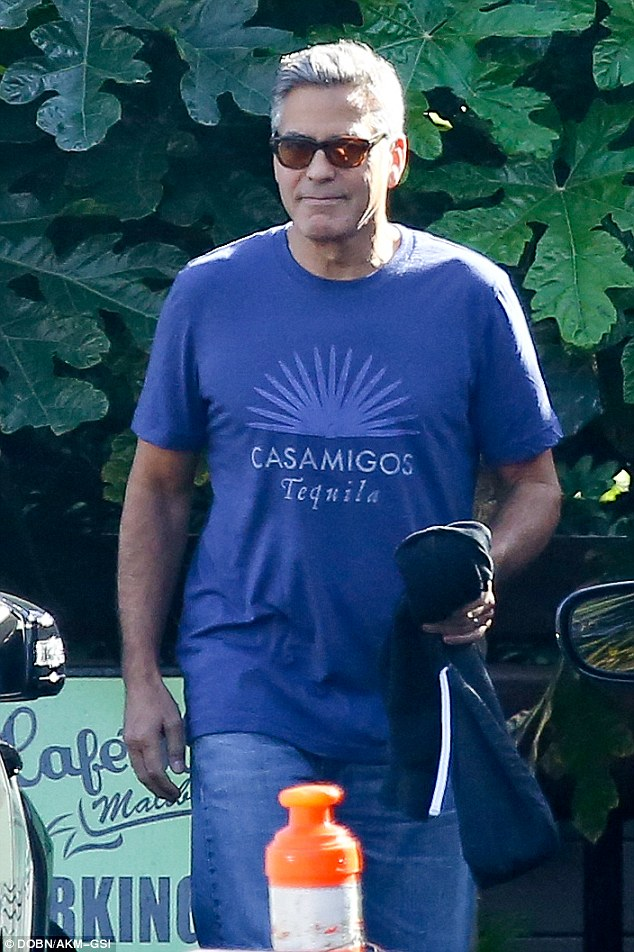 George Clooney stepping out again in Malibu on Wednesday October 22 2014 1414039513579_wps_6_Malibu_CA_George_Clooney_