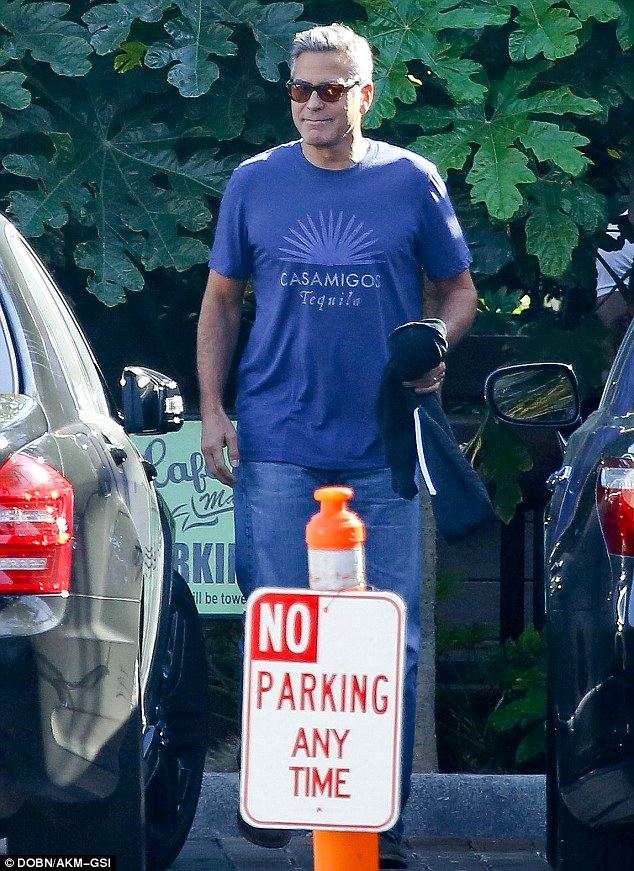 George Clooney stepping out again in Malibu on Wednesday October 22 2014 1414039760959_Image_galleryImage_Malibu_CA_George_Clooney_