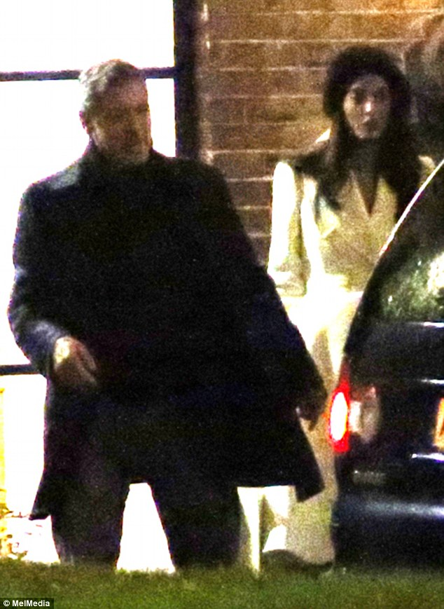 Fashionable friends: George and Amal Clooney dine out with Stella McCartney and Alasdhair Willis at The River Cafe 234BAC9D00000578-2841024-Dining_out_Newlyweds_George_and_Amal_Clooney_have_dinner_at_The_-1_1416414326037
