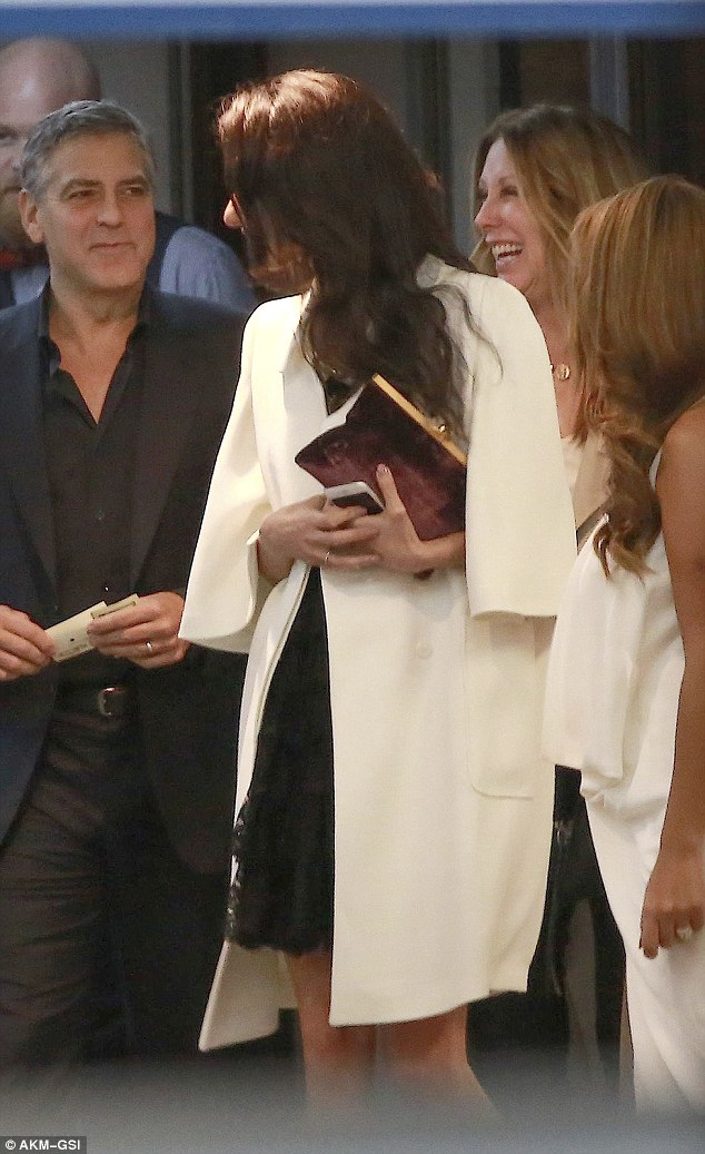 George and Amal Clooney's Date Night at Soho House in West Hollywood 23E2105A00000578-2865724-image-a-22_1418062353545