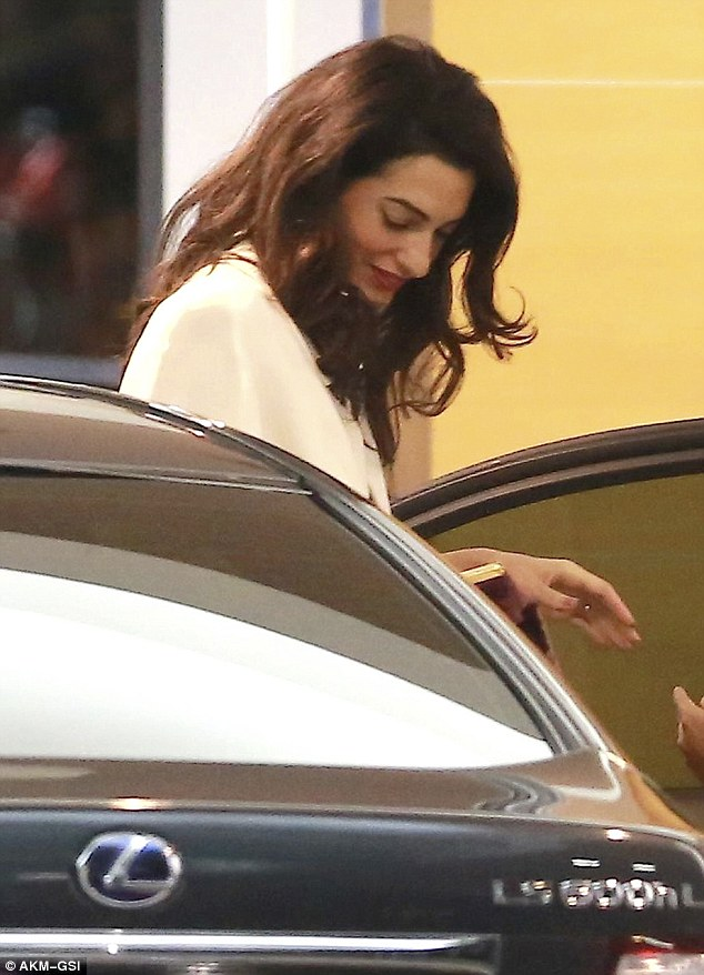 George and Amal Clooney's Date Night at Soho House in West Hollywood 23E214BC00000578-2865724-image-m-38_1418058748562