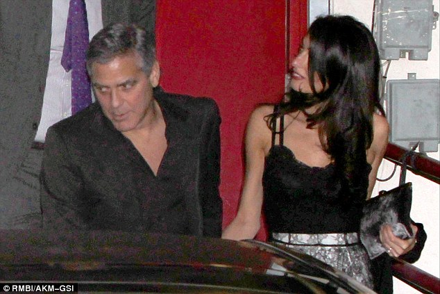 George Clooney and wife at Craig's restaurant in Hollywood 240C0FFC00000578-2873612-image-a-36_1418581201807