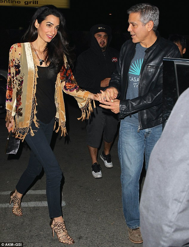 George and Amal Clooney eat at Asanebo again 240F5ABE00000578-2878819-image-m-162_1418901310250