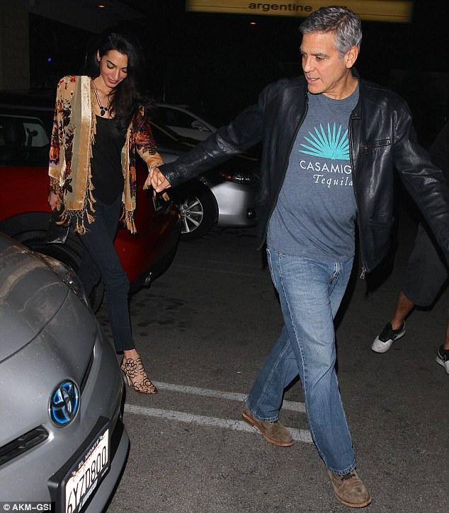 George and Amal Clooney eat at Asanebo again 240F5B2200000578-2878819-image-m-164_1418901337653