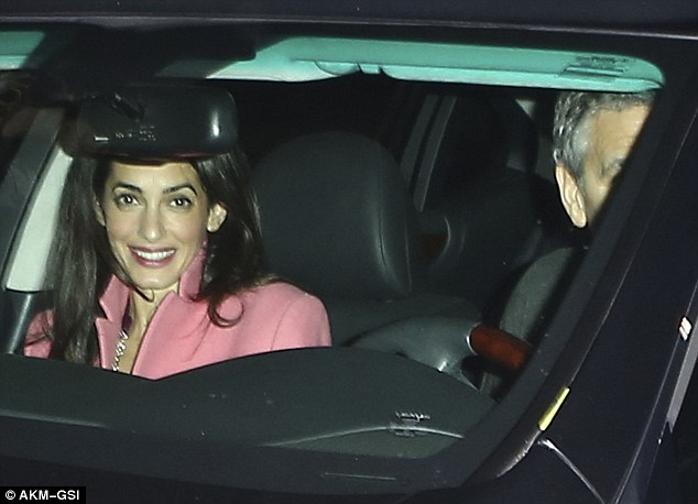 George and Amal Clooney eat at Asanebo again 2423347100000578-0-image-m-152_1418900513969