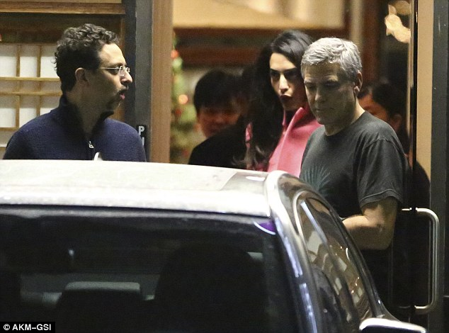 George and Amal Clooney eat at Asanebo again 2423383300000578-0-image-m-150_1418900496065