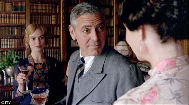 George Clooney to appear in Downton Abbey episode for charity - Page 3 242BE21500000578-2881286-image-a-14_1419026999310