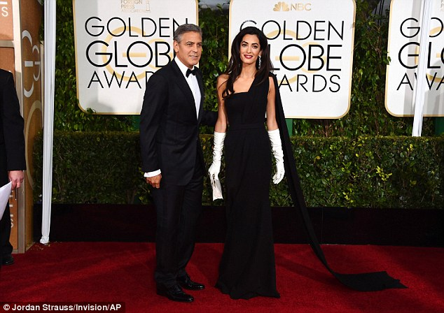 George Clooney at the Golden Globes January 2015 - Page 2 249B803500000578-2905892-image-a-93_1421028655408