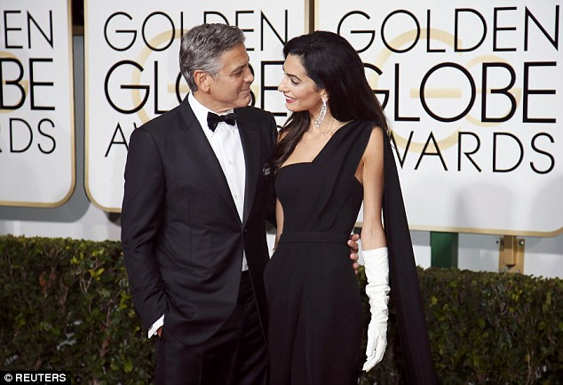 George Clooney at the Golden Globes January 2015 - Page 2 249B823500000578-2905892-image-a-66_1421024733475